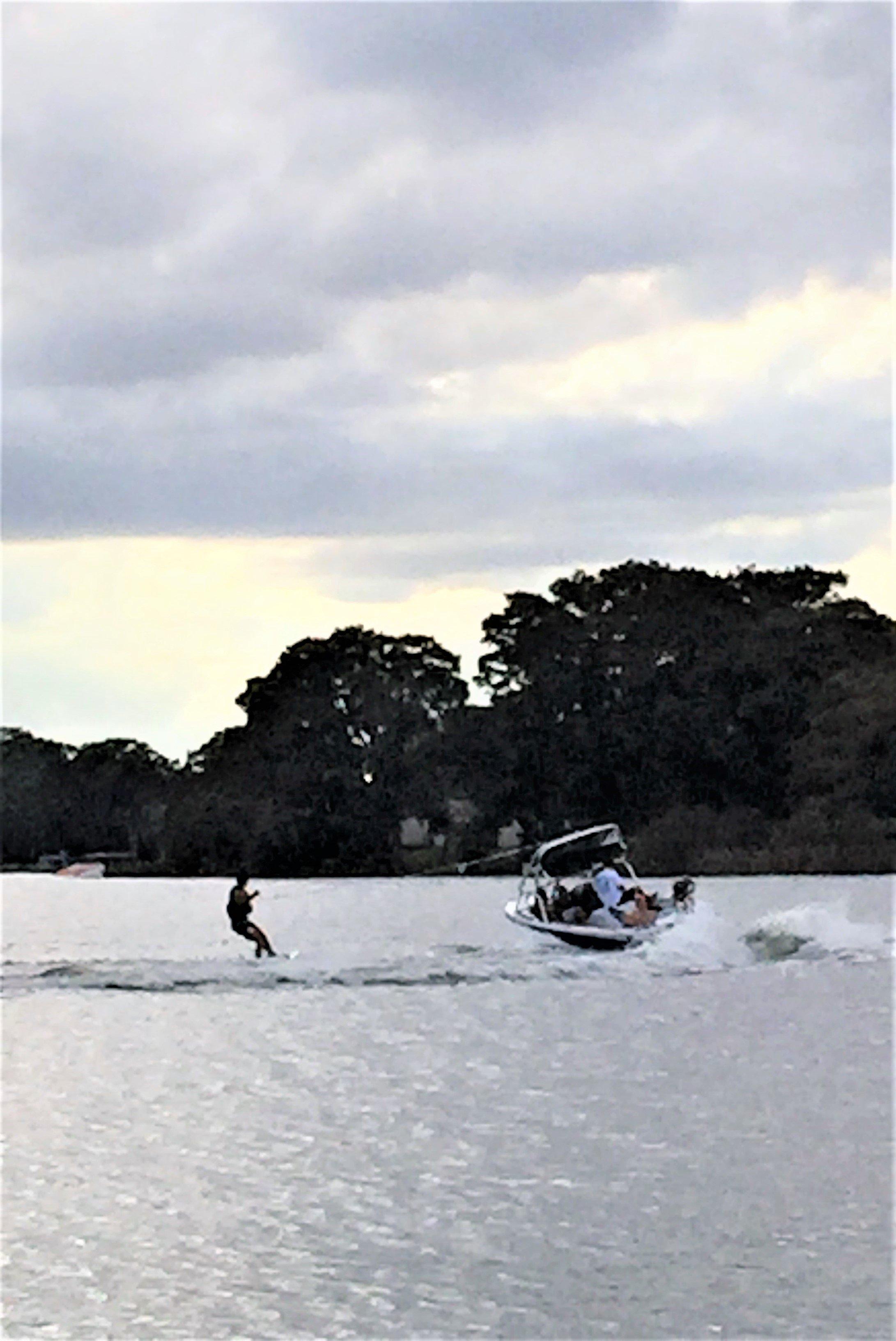 Water skier Lake Osceola