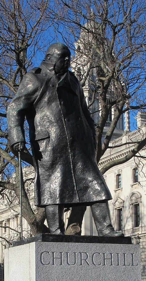 Winston Churchill, London, Parliament Square