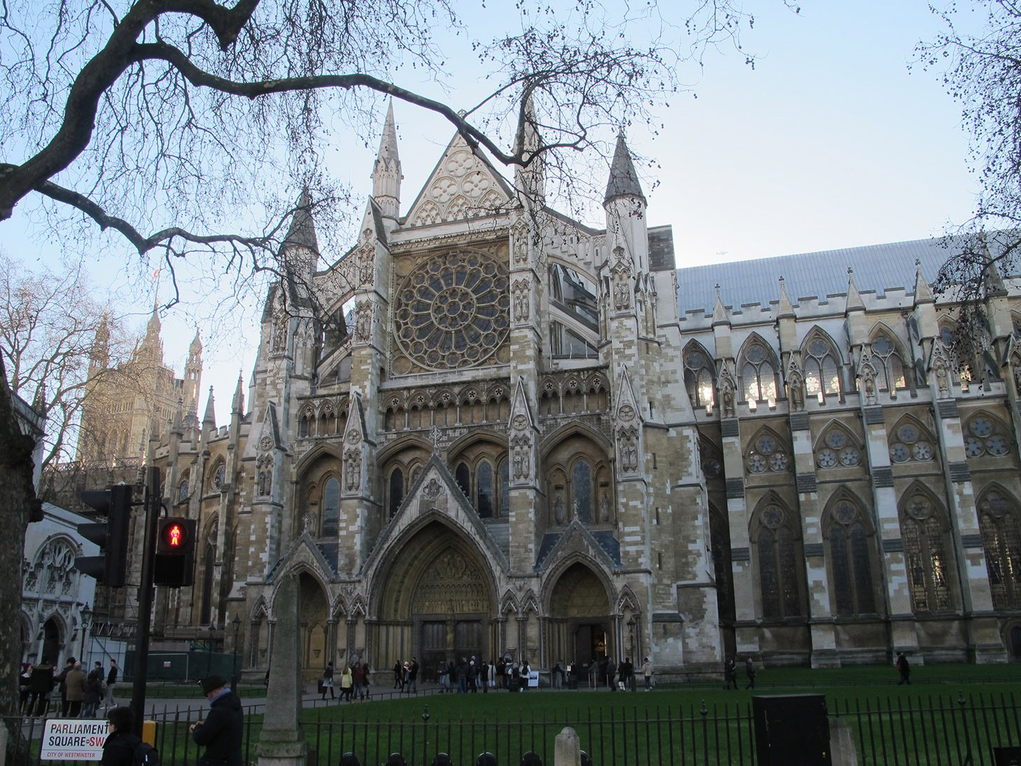 Westminster Abbey, London, Travel