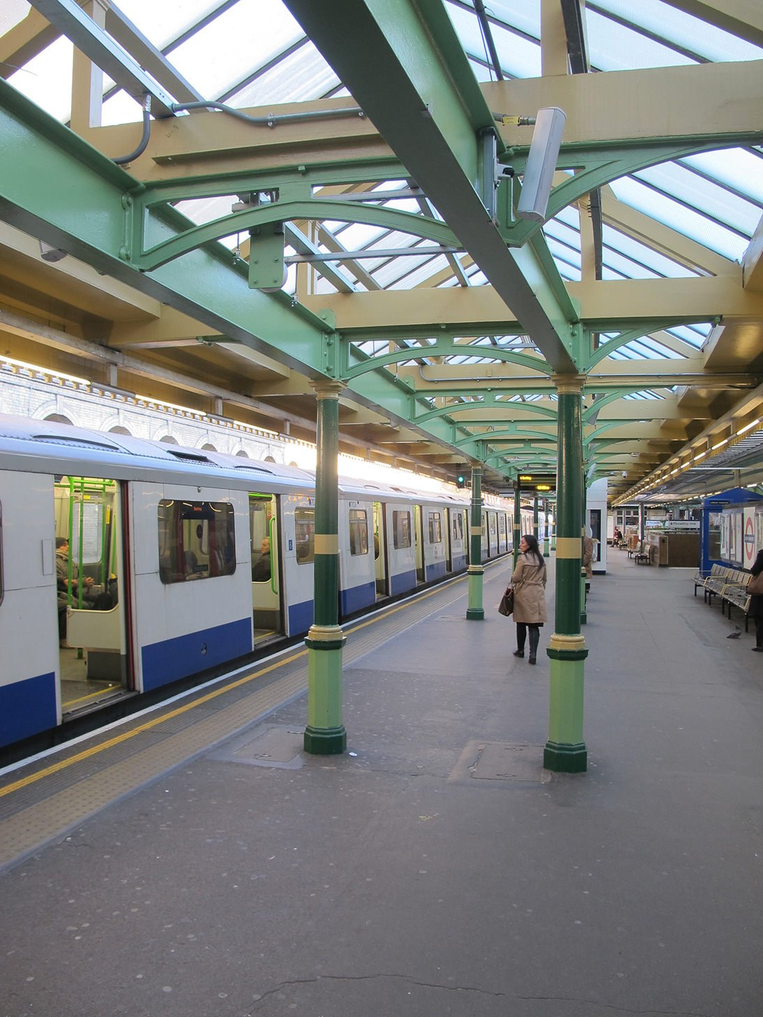London, Tube, South Kensington, travel, London