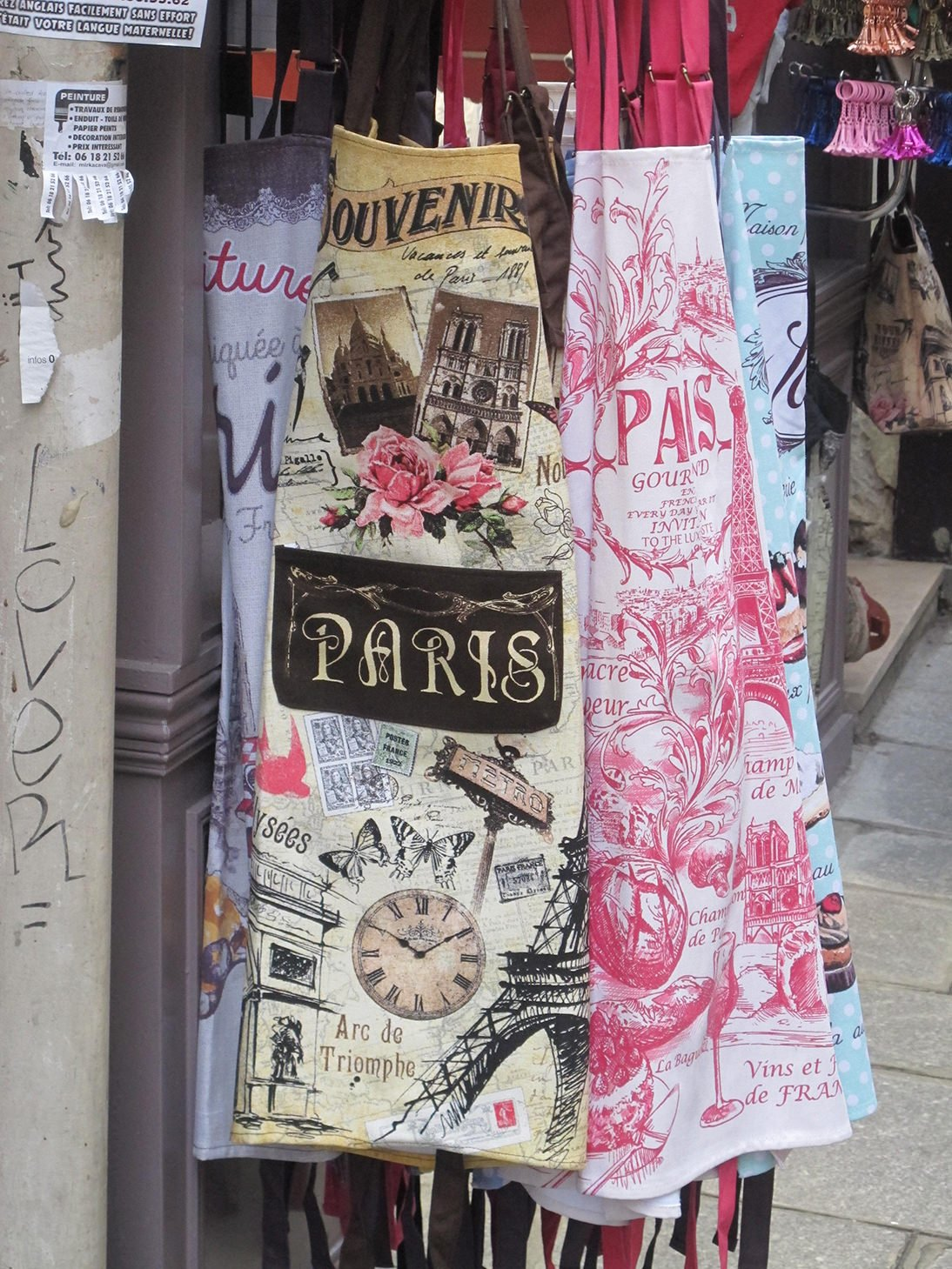 Paris, France, travel, aprons