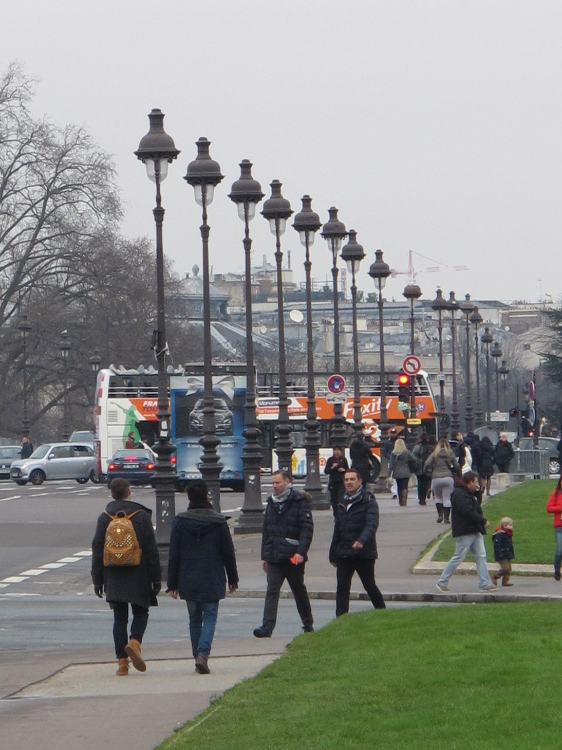 Paris, France, travel, lamp posts