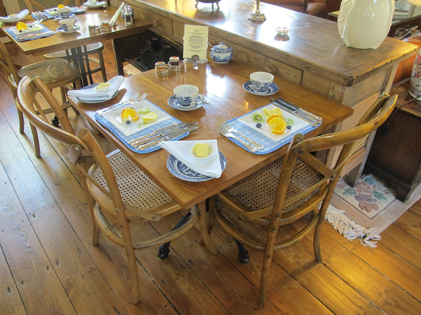 B and B, hotel, The Old Railway Station, breakfast, England, Petworth