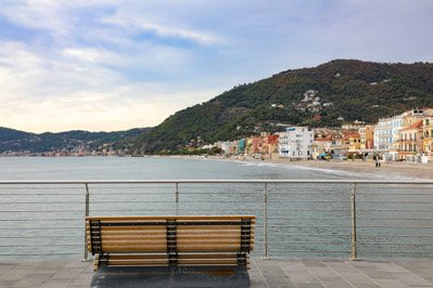 Pier Bench – Around the Globe with Dr  Ron