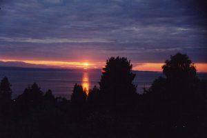 Puget Sound, Washington, USA.