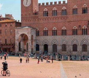Piazza del Campo and Palazzo Publico