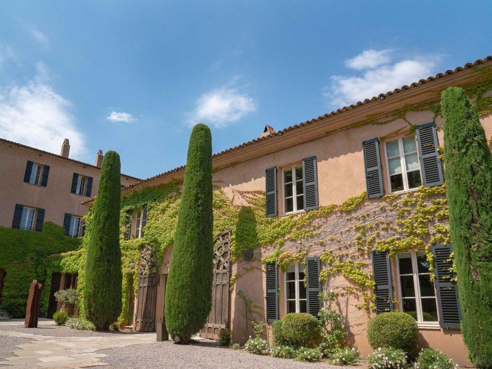 Chateau building, winery of Chateau Sainte-Rosaline