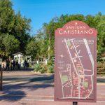 Welcome sign San Juan Capistrano