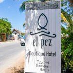 Beachside hotel and restaurant