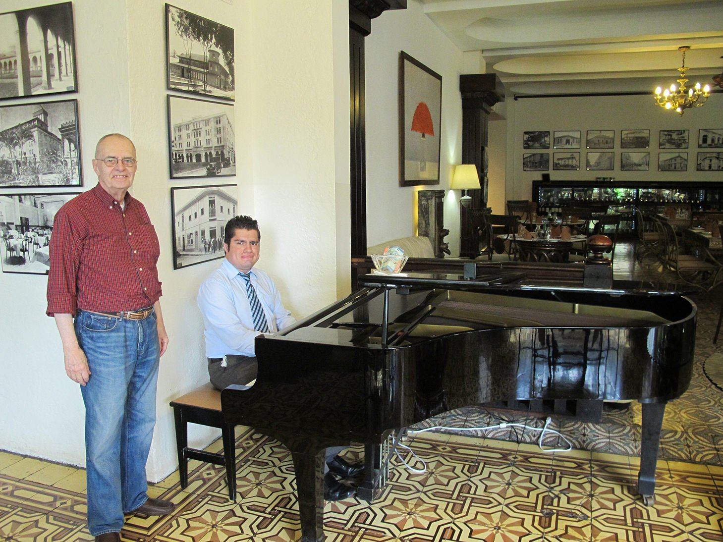 Gran Hotel San Jose, Costa Rica, travel, piano