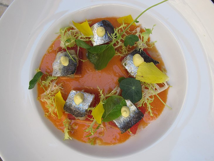 grapefruit-gazpacho-with-watermelon-and-sardines-at-fosh-kitchen