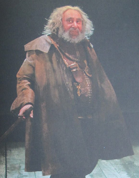 Falstaff, Henry IV, Barbican Theater, Royal Shakespeare Company, Shakespeare, London, travel, Antony Sher