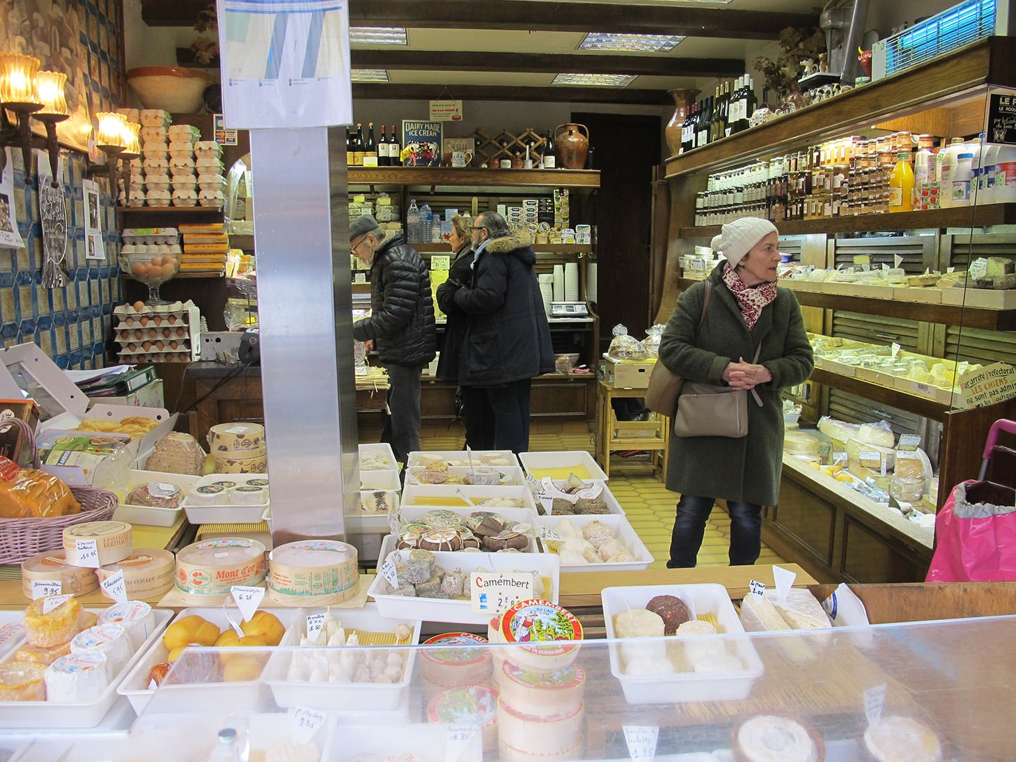 Cheese, rue des Martyrs, Paris, France, travel