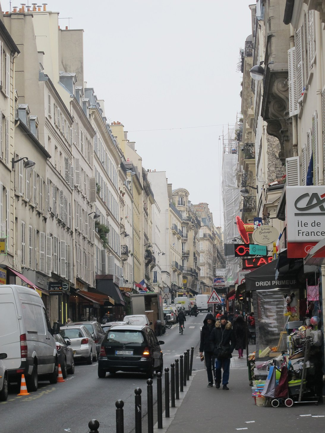 Rue des Martyrs, Paris, France, travel