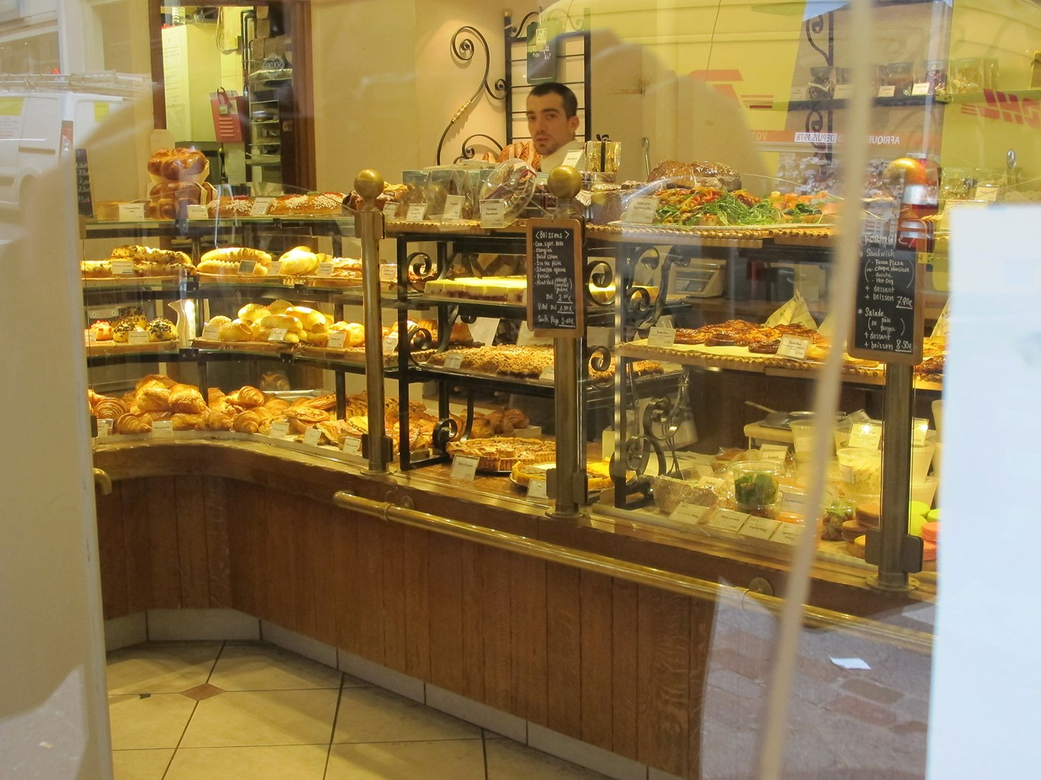 boulangerie, Rue des Martyrs, Paris, France, travel