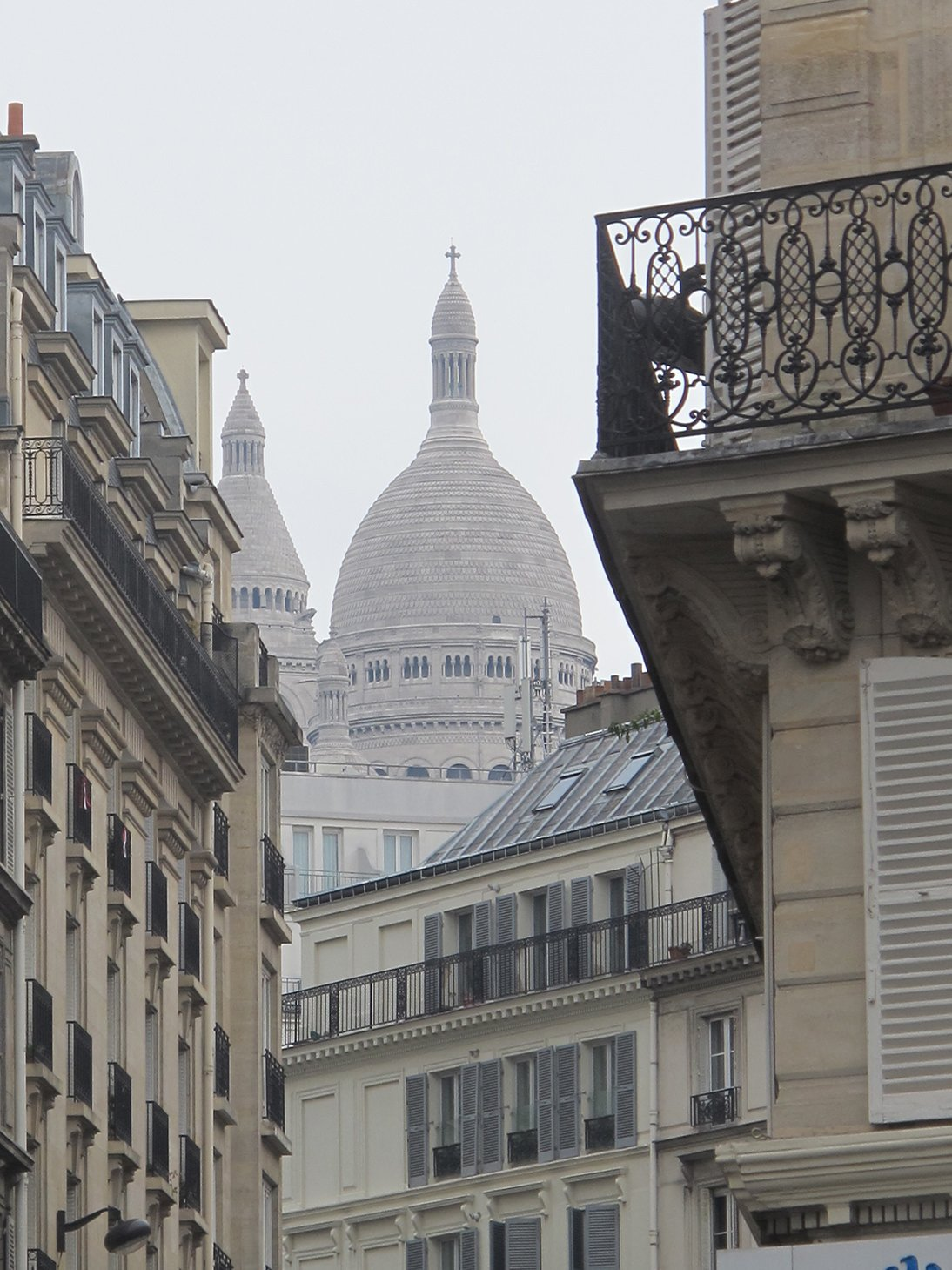 Sacre Coeur, Paris, France, travel, church, Rue des Martyrs