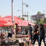 Street market Mexico city.